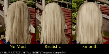 SK Hair Retex V1 2 Light Comparison