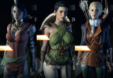 Isabela Armors Crafting