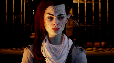 Warpaints and tattoos for elves and dwarves