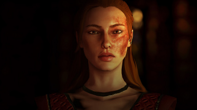 My Inquisitor Zoe Trevelyan with the complexion in-game