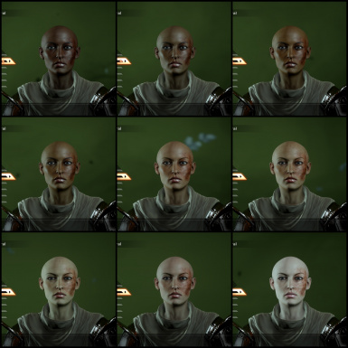 Complexion skintone overview - HF