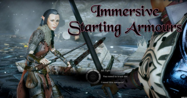 Immersive Starting Armors