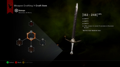 inquisition longsword
