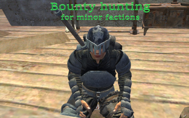 Bounty hunting for minor factions