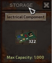 Resource specific storages stacks x 1000.