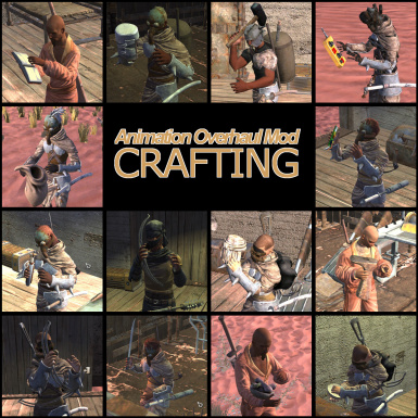 Animation Overhaul Mod - Crafting at Kenshi Nexus - Mods and