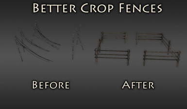 Better Crop Fences