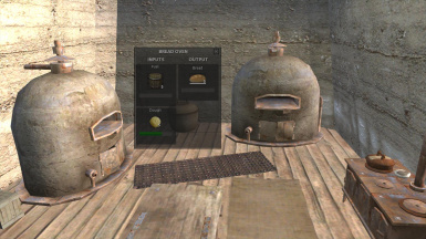 (Fuel Powered) Bread Oven Changes