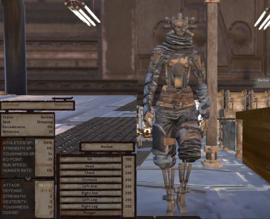 XT MKIII and XTMKIV Concept Art Skeletons at Kenshi Nexus