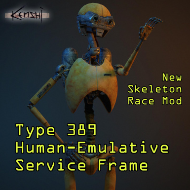 Type 389 Human Emulative Service Frame - New Skeleton Subrace