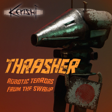 Thrashers - New 'Old Machines' Enemy Type