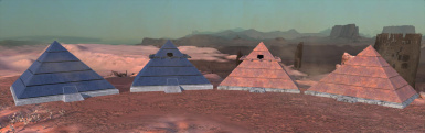 Pyramids of Old