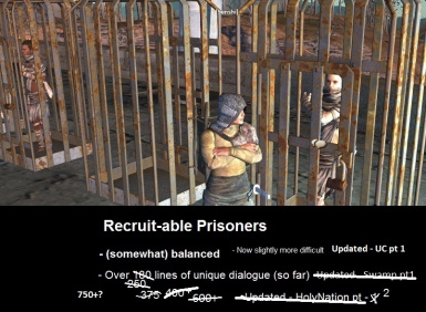Recruitable Prisoners