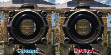 Marksman Scope - Better and Cleaner version comparison