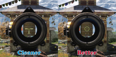 Optical Scope -  Better and Cleaner version comparison