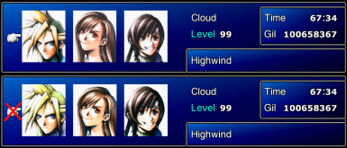 FFVII- Classic Icons Upres