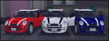 Rob's White MINI Cooper at Grand Theft Auto 3 Nexus - Mods and community