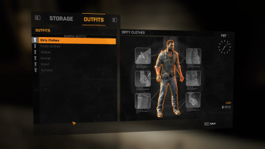 Dirty (Default) Clothes for Update 1.50