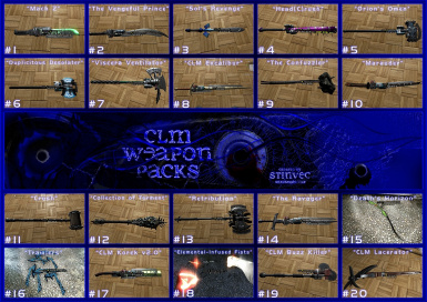 CLM-WP Weapons 1-20