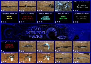 CLM-WP Weapons 21-40