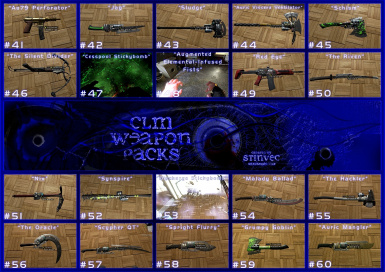 CLM-WP Weapons 41-60