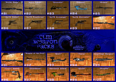 CLM-WP Weapons 81-100