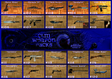 CLM-WP Weapons 101-120