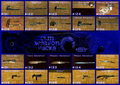 CLM-WP Weapons 121-140
