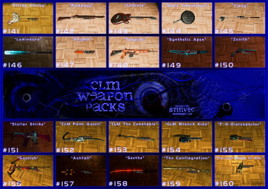 CLM-WP Weapons 141-160