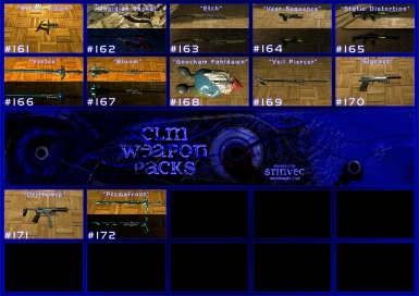 CLM-WP Weapons 161-180