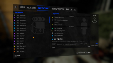 Modded Game Save Game Completed And Over Powered Weapons