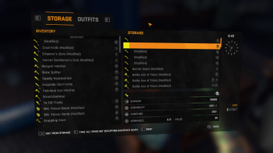dying light MODDED WEAPONS and so many UNLIMITED ITEMS game save