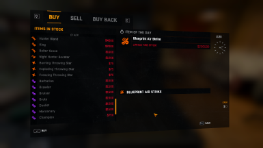 All items in shop at dying light nexus mods and community 16 items malvernweather Gallery