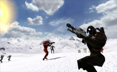 Geth Sniper on Hoth