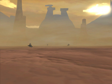Geonosis Canyon