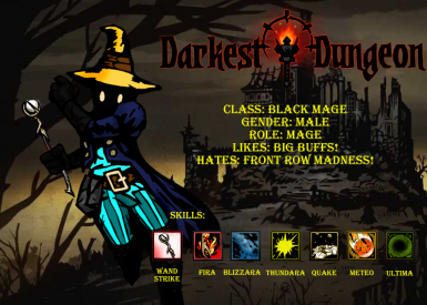 The Black Mage Class
