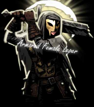 Armored Female Leper