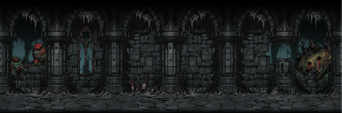 More dungeon background variations - Crimson Court add on