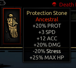 Stupidly op Protection Stone
