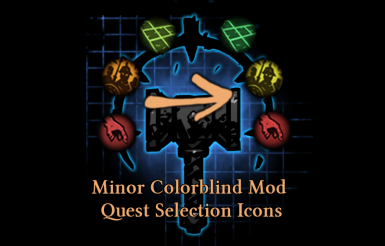 Minor Colorblind Mod - Quest Selection Icons