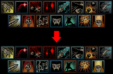 More Consistent Skill Icons
