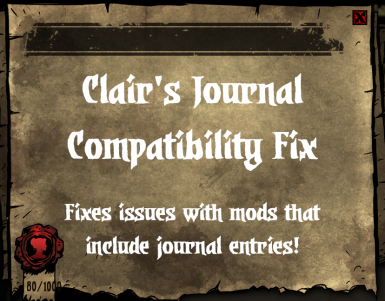 Clair's Journal Compatibility Fix