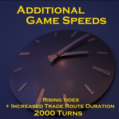 Additional Game Speeds Rising Tides