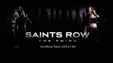 Unofficial Patch v1f0.0.1 (En) for SR3