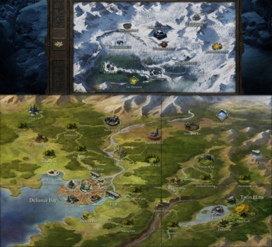 Pillars of Eternity Full Map