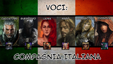 6 Voci Custom - Compagnia Italiana - Italian Party Members