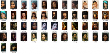 All of Asia Female Portraits