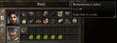 Consumable Stronghold Quest Items Mod