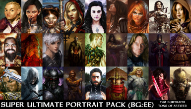 Super Ultimate Portrait Pack