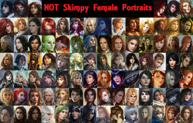 NOT Skimpy female portraits